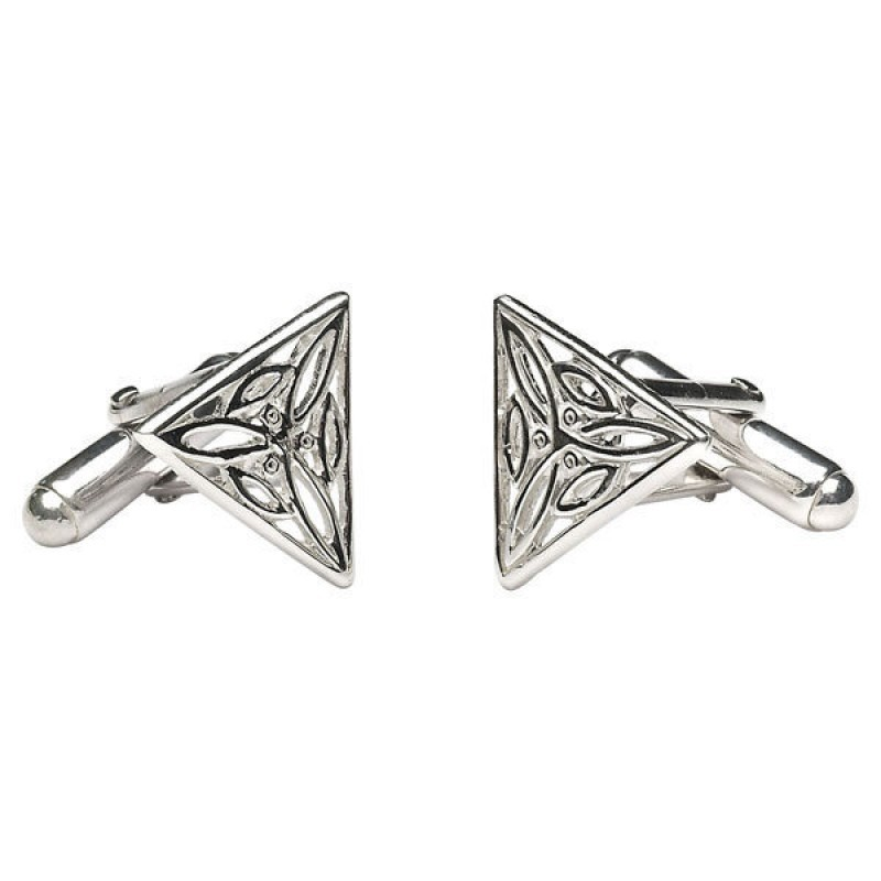 Irish Trinity Knot Cuff Links