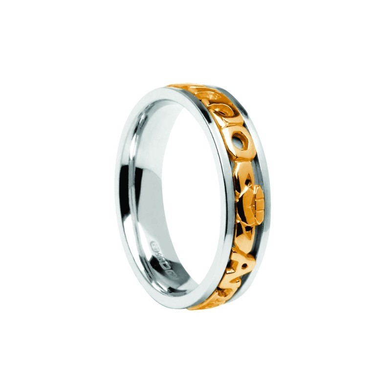 Ladies Signature Mo Anam Cara Wedding Ring