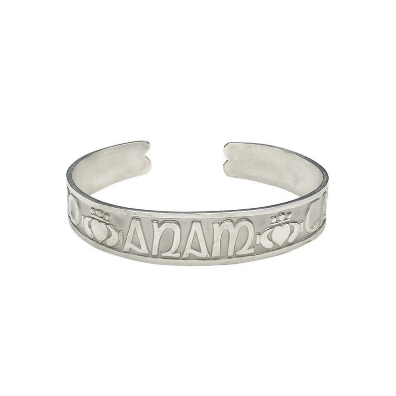 Mo Anam Cara Cuff Irish Bangle Bracelet