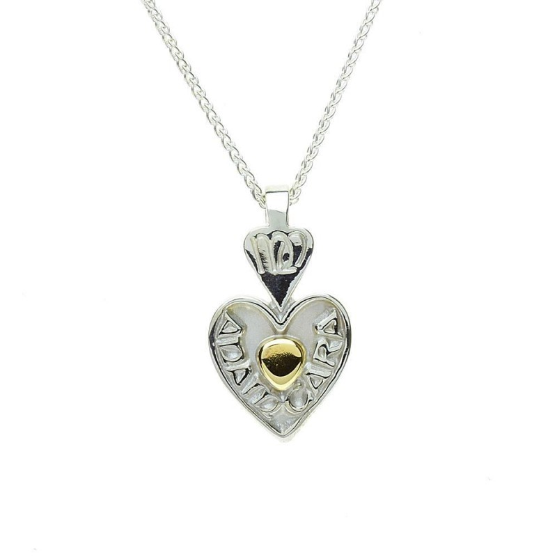 Mo Anam Cara Heart My Soul Mate Irish Pendant