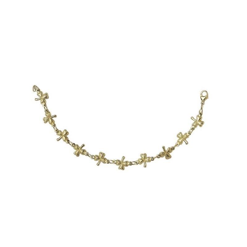 Shamrock Chain Link Bracelet
