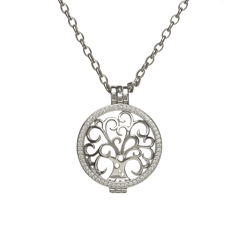 Tree of Life Disc Irish Pendant