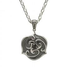 Antique Celtic Triscele Irish Pendant