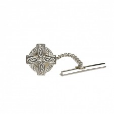 Irish Celtic Cross Tie Tac