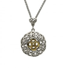 Celtic Interlaced Knot Irish Pendant