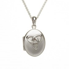 Irish Trinity Knot Locket Pendant