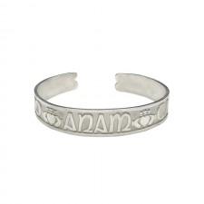 Mo Anam Cara Cuff Irish Bangle Bracelet