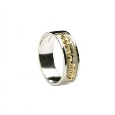 Ogham My Soul Mate Irish Ring